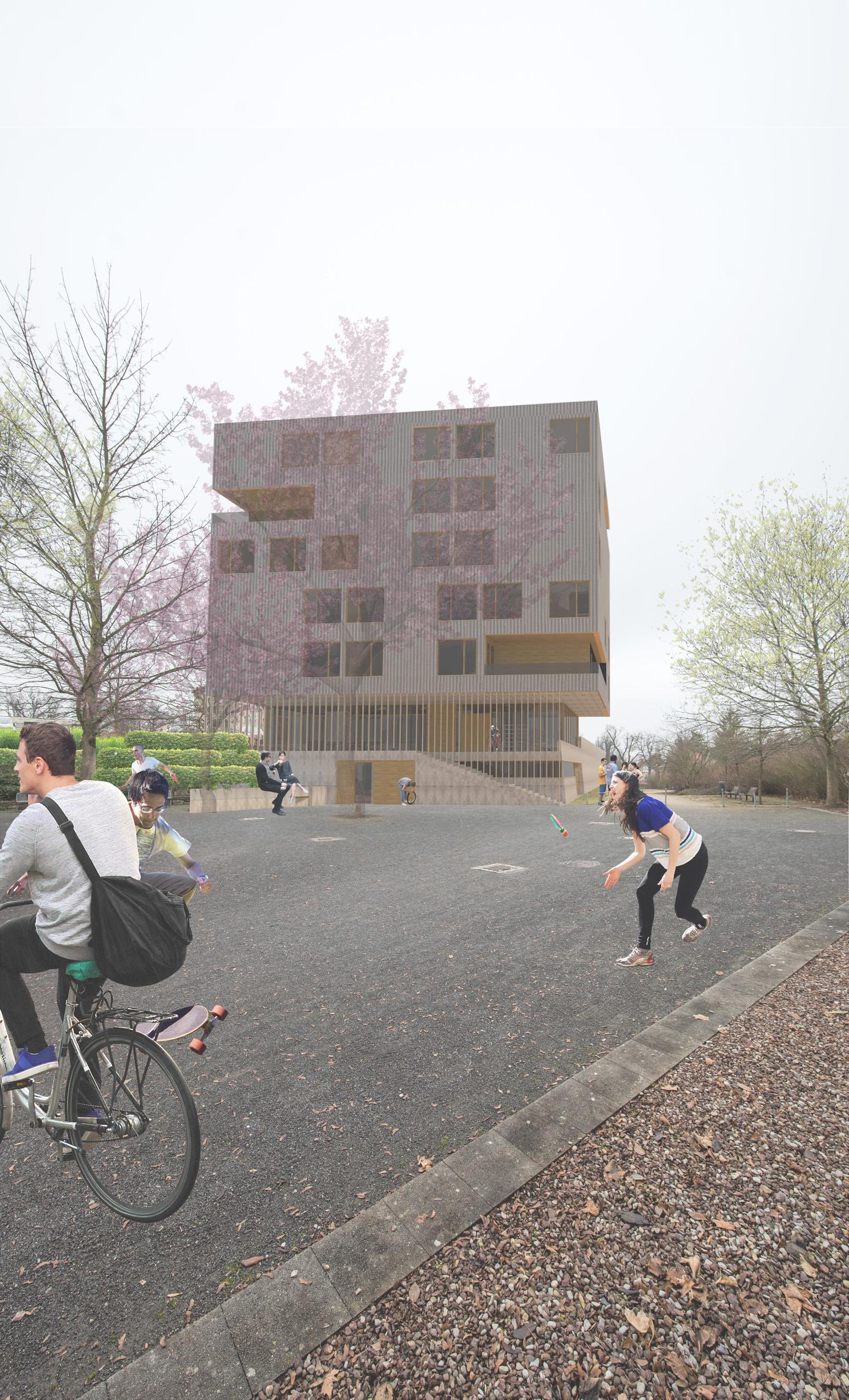DAS 100 / Wohnhaus für Studierende