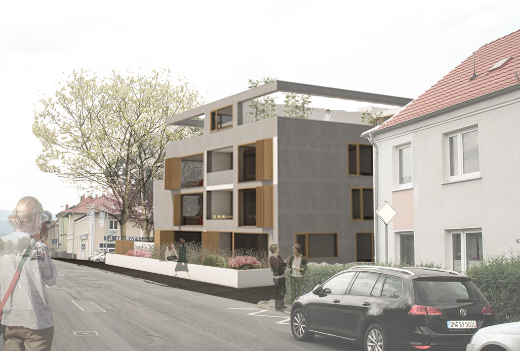 Mehrfamilienhaus Feldstrasse // Wernigerode