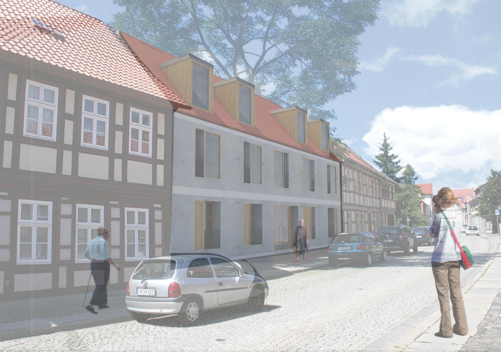 Mehrfamilienhaus Grüne Strasse // Wernigerode